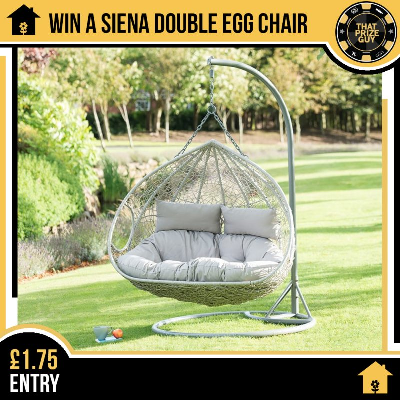 Double egg chair