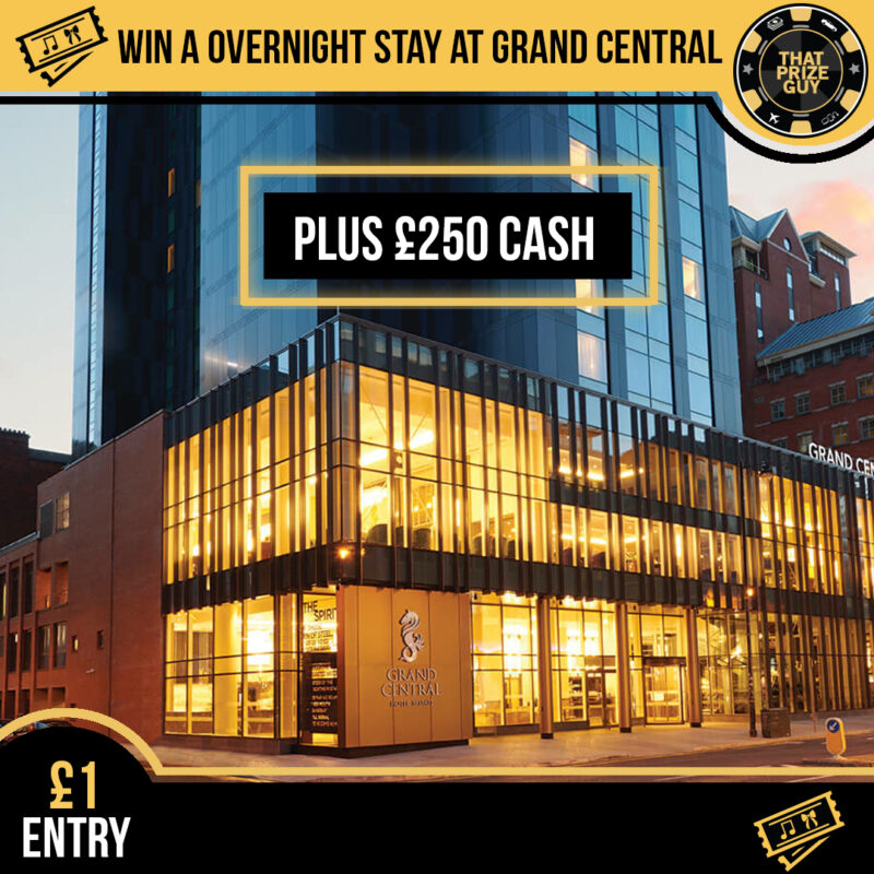 Grand Central stay with cash